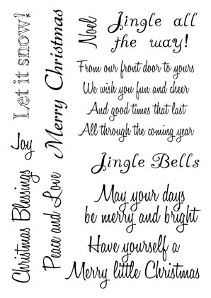 christmas sentiments - Christmas Card Sentiments